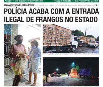 POLÍCIA ACABA COM A ENTRADA ILEGAL DE FRANGOS NO ESTADO