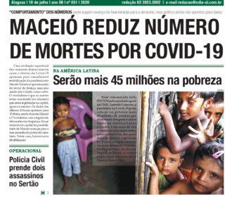 MACEIÓ REDUZ NÚMERO DE MORTES POR COVID-19