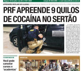 PRF APREENDE 9 QUILOS DE COCAÍNA NO SERTÃO