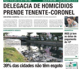 DELEGACIA DE HOMICÍDIOS PRENDE TENENTE-CORONEL