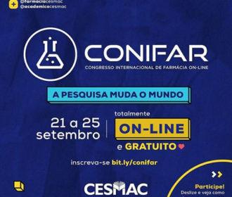 Cesmac realiza I Congresso online Internacional de Farmácia