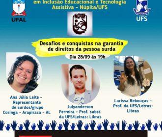 Evento acadêmico online discute direitos de pessoas surdas