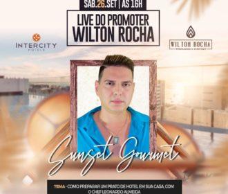 Promoter Wilton Rocha se prepara para mais uma live