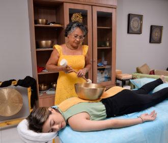 Massagem de Som pode amenizar dores emocionais