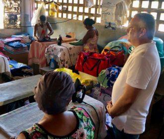 Alfredo Gaspar visita lavadeiras artesanais e garante suporte e apoio ao crédito