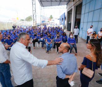 Alfredo Gaspar anuncia primeira empresa a ser implantada em polo industrial no Benedito Bentes