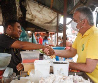 Alfredo Gaspar vai revitalizar feiras e mercados e dinamizar economia nos bairros