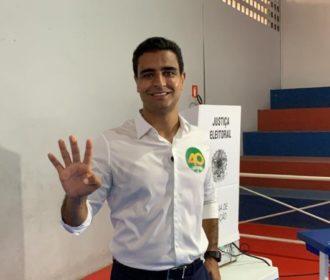 JHC vota no Anchieta e diz que está confiante na vitória