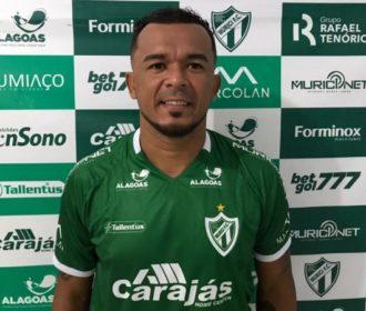 Murici anuncia atacante Zé Carlos como reforço para a temporada 2021