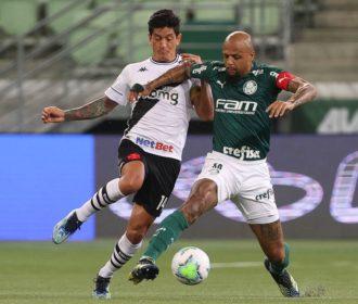 Palmeiras e Vasco ficam no empate no Allianz Parque