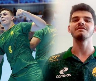 Seleção masculina de handebol substitui dupla contundida para Mundial