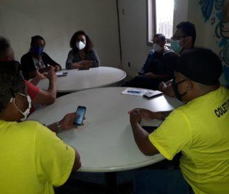Equipe da FMAC se reúne com segmentos culturais em Maceió