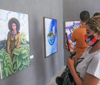 """Em Arapiraca, mostra de Arte """"Olho Mágico"""" segue em exposição até o final de fevereiro"""