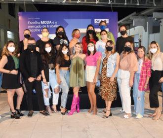 Influenciadoras batem papo sobre moda e alimentos aqui em Maceió
