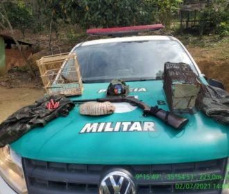 Operação Curupira apreende arma de fogo na APA de Murici