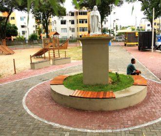 Câmara tenta mudar mais uma vez o nome da Praça Dandara dos Palmares, em Maceió