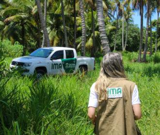 IMA vistoria propriedade rural particular para criar área de soltura de animais