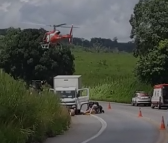 Vídeo: Caminhoneiro é morto durante tentativa de assalto na BR-104, em Murici