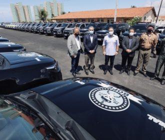 Em menos de 2 meses, AL entrega mais de 100 viaturas blindadas às forças de Segurança