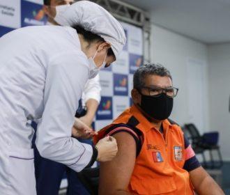 Estado amplia vacinação de servidores da Segurança Pública para novas faixas etárias
