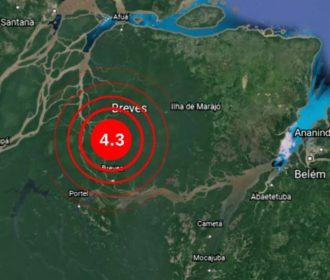 Terremoto de 4.3 na Escala Richter é registrado no Pará