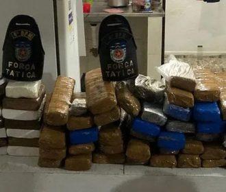 Traficante é preso com mais de 51 quilos de entorpecentes em Maceió