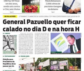 General Pazuello quer ficar calado no dia D e na hora H