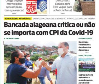 Bancada alagoana critica ou não se importa com CPI da Covid-19