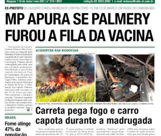 MP APURA SE PALMERY FUROU A FILA DA VACINA