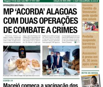 MP 'ACORDA' ALAGOAS COM DUAS OPERAÇÕES DE COMBATE A CRIMES