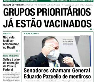 GRUPOS PRIORITÁRIOS JÁ ESTÃO VACINADOS