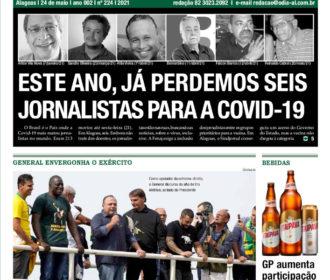 ESTE ANO, JÁ PERDEMOS SEIS JORNALISTAS PARA A COVID-19