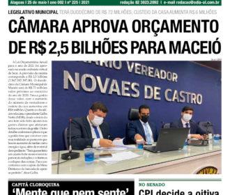 CÂMARA APROVA ORÇAMENTO DE R$ 2,5 BILHÕES PARA MACEIÓ