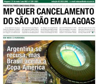 MP QUER CANCELAMENTO DO SÃO JOÃO EM ALAGOAS