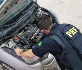 PRF prende quatro pessoas durante fiscalizações no final de semana