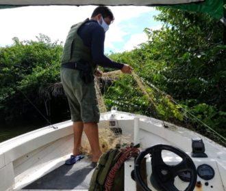PM realiza operação contra pesca predatória em Jequiá da Praia