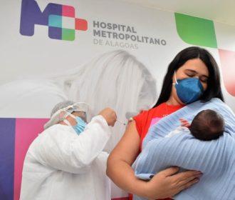 Alagoas inicia vacinação de gestantes, puérperas e transplantados com a vacina Pfizer