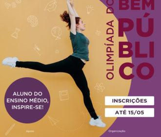 1ª Olimpíada do Bem Público está com inscrições abertas