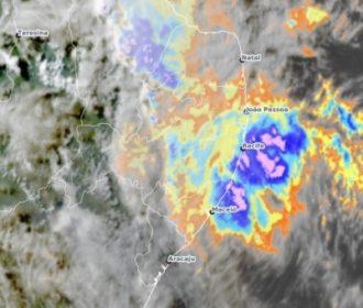 Pancadas de chuvas nas regiões do Litoral e Zona da Mata de AL sugere previsão do tempo