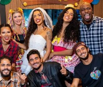 Tribo Carcará, de 'No Limite', faz festa junina após fim das gravações