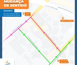 Ruas no bairro de Mangabeiras vão ter sentidos alterados a partir deste sábado(19)