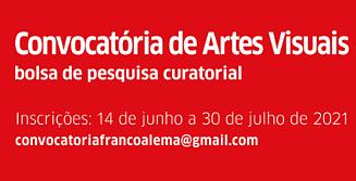 Convocatória para bolsa de pesquisa curatorial Brasil-Alemanha-França