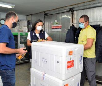 Alagoas recebe 63.610 doses de vacinas e passa a imunizar pessoas de 50 a 52 anos