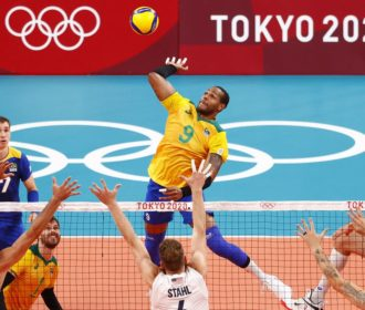 Olimpíada: Brasil bate EUA e se recupera no vôlei masculino