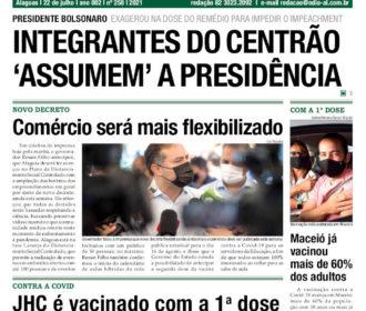 INTEGRANTES DO CENTRÃO 'ASSUMEM' A PRESIDÊNCIA