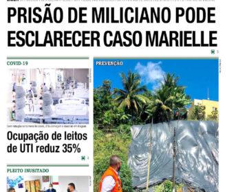 PRISÃO DE MILICIANO PODE ESCLARECER CASO MARIELLE