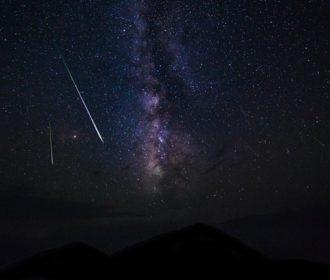 Chuvas de meteoros podem ser avistadas nas próximas madrugadas