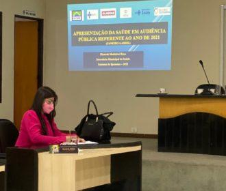 Vereadora Eliana Fofa destaca trabalho municipal e leva demandas da população para Audiência Pública