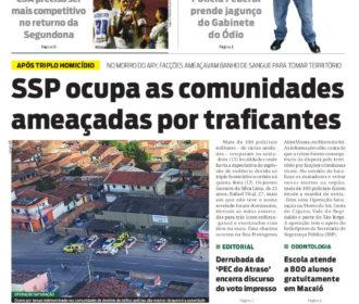 SSP ocupa as comunidades ameaçadas por traficantes