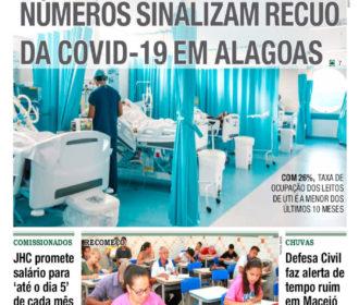 NÚMEROS SINALIZAM RECUO DA COVID-19 EM ALAGOAS